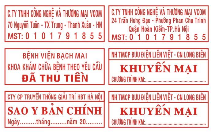Khắc dấu mã số thuế tại Nghệ An