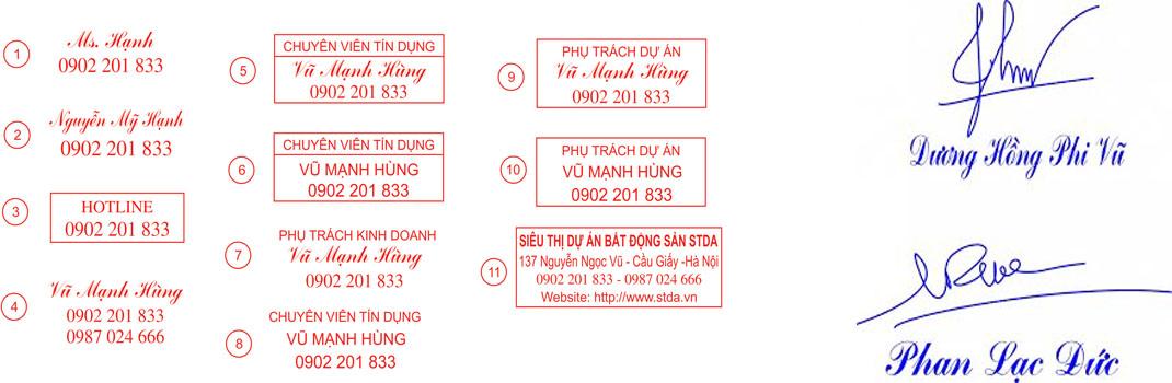 Dịch vụ khắc dấu tên tại Nghệ An giá rẻ